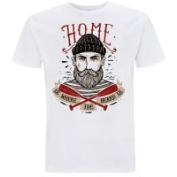 Home Is Where The Beard Is T-shirt