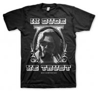 In Dude We Trust t-shirt fram