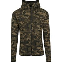 Interlock Camo Zip Jacket