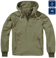 Luke windbreaker olive