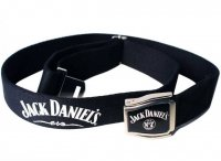 Jack Daniels - Black, No7 Logo Airplane Belt