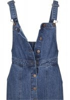 Ladies Denim Dungarees Dress jeans