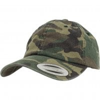 Camo Washed Cap 1