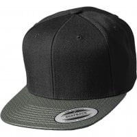 Cap with artificial leather 1