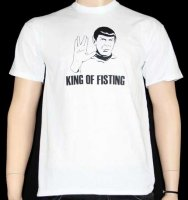 King of fisting t-shirt