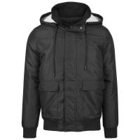 Short winterjacket men black 1