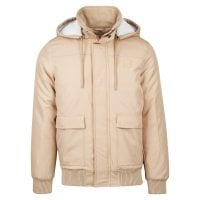 Short winterjacket men beige 1