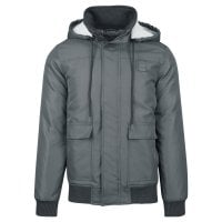 Short winterjacket men dark grey 1