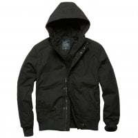Black Short winterjacket men Hudson
