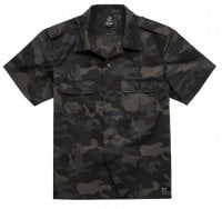 Short sleeve US army shirt darkcamo 1