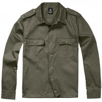 Long sleeve shirt army Olive