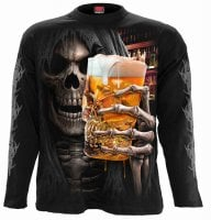 Long sleeve t-shirt Live Loud men glas of beer