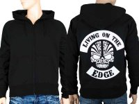 Living on the edge hoodie