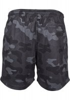 Airy camo shorts men back