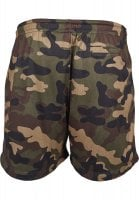 Airy camo shorts men wood
