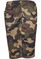 Airy camo shorts men side pocket
