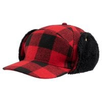 Lumberjack wintercap with ear patches 1