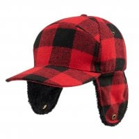 Lumberjack wintercap with ear patches 2
