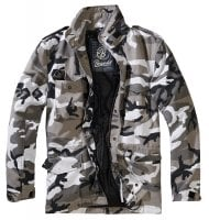 M-65 jacket classic camo urban camo front