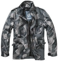 M-65 jacket classic camo night camo front