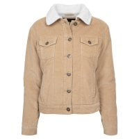 Ladies Sherpa Cordury Jacket