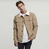 Sand Corduroy jacket men front