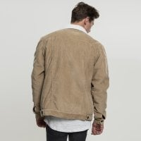 Sand Corduroy jacket men back
