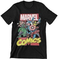 Marvel Comics Heroes Kids T-Shirt 1