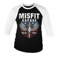 Misfit Garage - American Piston 3/4 baseball tee