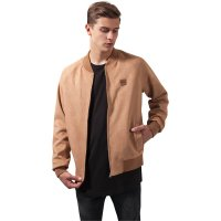 Imitation Suede Bomber Jacket 1