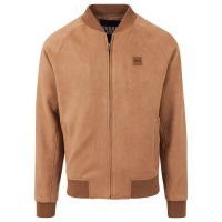 Imitation Suede Bomber Jacket 3
