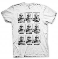 Moods Of A Stormtrooper Vit T-Shirt