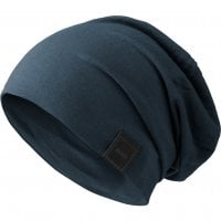 Beanie long and thin navy
