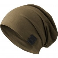 Beanie long and thin olive