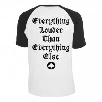 Motörhead Everything Louder baseball t-shirt bak