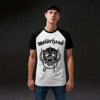 Motörhead Everything Louder baseball t-shirt modell