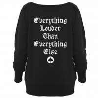 Motörhead Everything Louder Wideneck damsweatshirt 2
