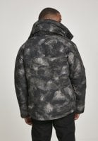 Multipocket winter jacket in camouflage 4