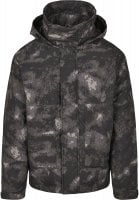 Multipocket winter jacket in camouflage 6