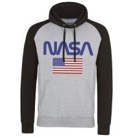 NASA - Old Glory Baseball Hoodie 1