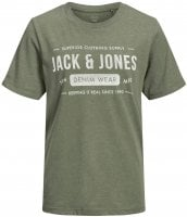 Denim Wear oliv barn T-shirt Jack And Jones