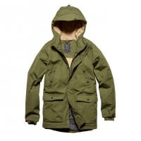 Parka jacket men Skinner olive