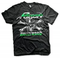 Poison T-shirt - Hollywood Skull