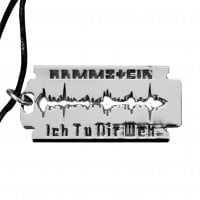 Rammstein Necklace Razor 2