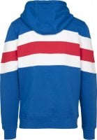 Chest Striped Hoody blue