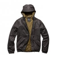 Rain jacket men black
