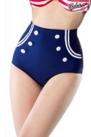 Retro bikini briefs with high waist 1
