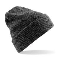 Dark gray Ribbed hat with or without ankle
