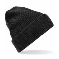 Black Ribbed hat with or without ankle