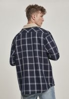Checkered shirtjacket lined 3